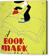 Poster Books, C1938 Acrylic Print
