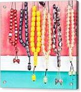 Prayer Beads Acrylic Print
