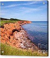 Prince Edward Island Coastline Acrylic Print
