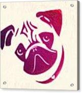 Pug The Dog Acrylic Print