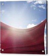 Qatar Flag Acrylic Print