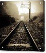 Railway Tracks Acrylic Print