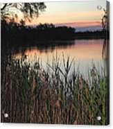 River Murray Sunset Series 1 Acrylic Print