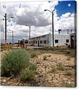 Route 66 - Twin Arrows Trading Post Acrylic Print