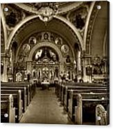 Saint Marys Orthodox Cathedral Acrylic Print