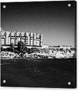 Salou Waterfront Properties On The Costa Dorada Catalonia Spain Acrylic Print