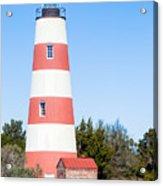 Sapelo Island Lighthouse Sapelo Island Georgia Acrylic Print