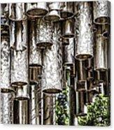 Sibelius Pipe Monument - Helsinki Finland Acrylic Print