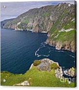 Slieve League Cliffs, Ireland Acrylic Print