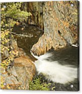 Smalls Falls In Western Maine Acrylic Print