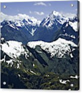 South Pacific, New Zealand, South Island Acrylic Print