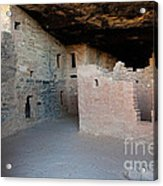 Spruce Tree House Mesa Verde National Park Acrylic Print