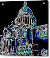 St Pauls Cathedral London Art Acrylic Print