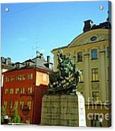 Stockholm City Art Acrylic Print