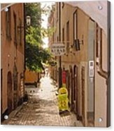 Stockholm City Old Town Acrylic Print