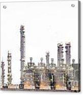 Stream Power Plant  Acrylic Print by Anek Suwannaphoom