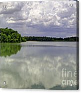 4-summer Time At Moraine View State Park Acrylic Print
