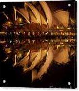 Sydney Opera House Abstract Acrylic Print