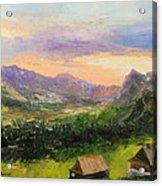 Tatry Mountains- Poland Acrylic Print
