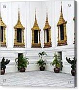 Thai Kings Grand Palace Acrylic Print