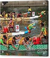 The 2013 Dragon Boat Festival In Kaohsiung Taiwan Acrylic Print