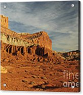 The Castle, Capitol Reef National Park Acrylic Print