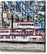 The Dixie Queen Paddle Steamer Acrylic Print