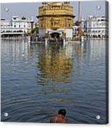 The Golden Temple At Amritsar India Acrylic Print