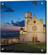The Papal Basilica Of St. Francis Of Assisi  Acrylic Print