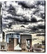 The Shard And South Bank Acrylic Print