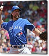 Toronto Blue Jays V Boston Red Sox Acrylic Print