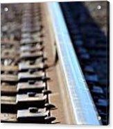 Train Track Acrylic Print