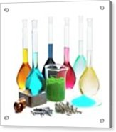 Transition Elements And Their Salts Acrylic Print