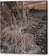 Tufa Formations, Mono Lake, Ca Acrylic Print