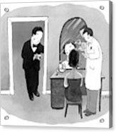 New Yorker September 24th, 2007 Acrylic Print