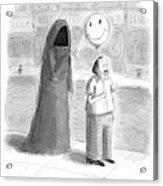 New Yorker September 26th, 2016 Acrylic Print