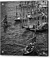 Venetian Cityscape Acrylic Print