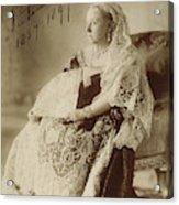 Victoria Of England (1819-1901) Acrylic Print