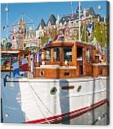 Victoria Wooden Boat Show Acrylic Print