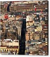 View From Torre Latinoamerican Acrylic Print