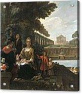 Viladomat I Manalt, Antoni 1678-1755 Acrylic Print