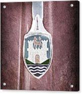 Volkswagen Vw Hood Emblem Acrylic Print
