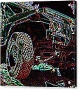 4 Wheelin Acrylic Print