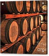 Wine Barrels Acrylic Print