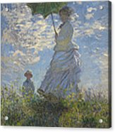 Woman With A Parasol Acrylic Print