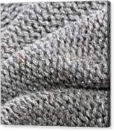Wool Background Acrylic Print