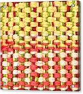 Wool Pattern Acrylic Print