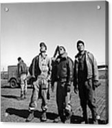 Wwii: Tuskegee Airmen, 1945 Acrylic Print