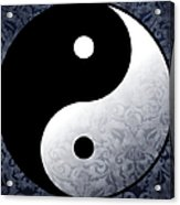 Yin And Yang 2 Acrylic Print