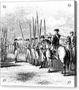 Yorktown: Surrender, 1781 Acrylic Print